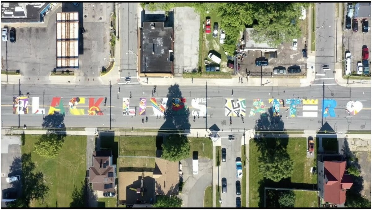 fresque Cleveland, Ohio